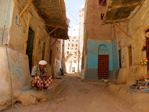 Древние улицы Йемена фото