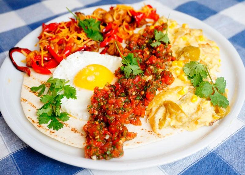 Мексиканская яичница рецепт фото