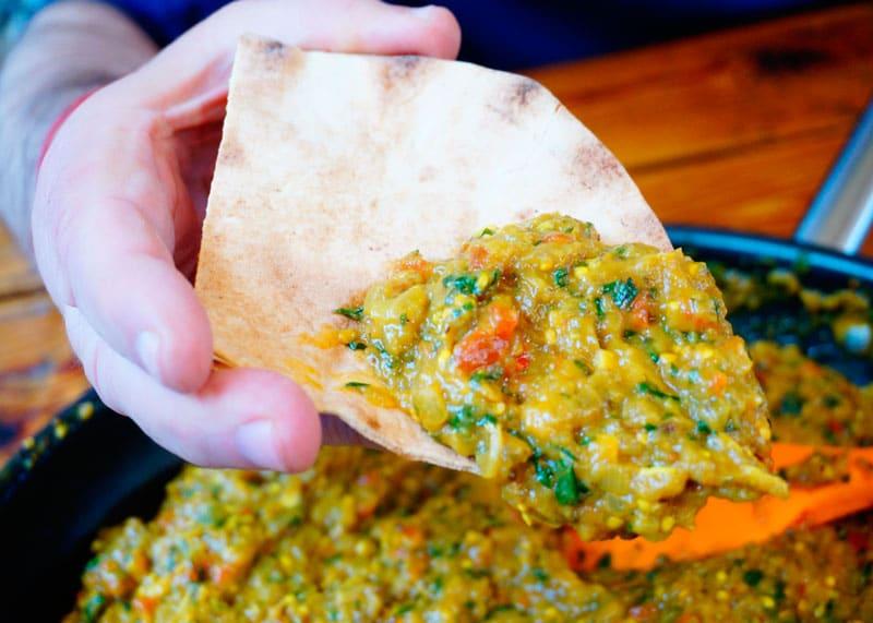 Острый соус из баклажанов рецепт фото