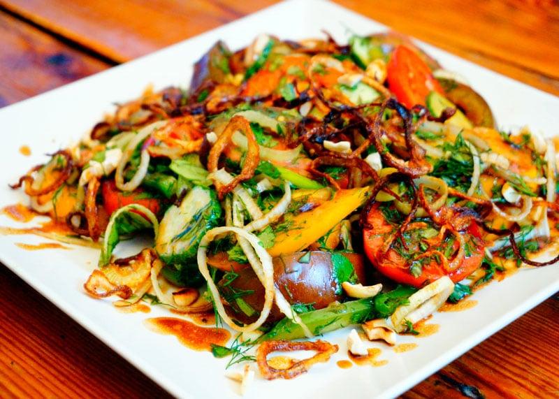 Вьетнамский салат из помидоров рецепт фото