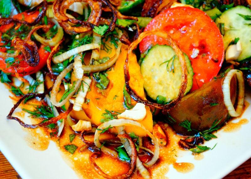 Вьетнамский салат из помидоров фото